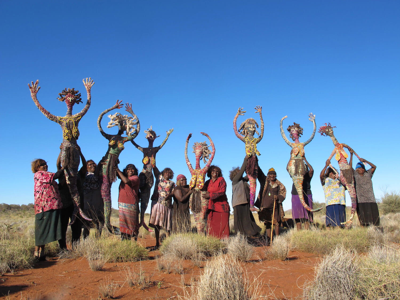 Image by Vicki Bosisto, courtesy of Tjanpi Desert Weavers, NPY Women's Council